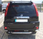 Подкова заднего бампера для Nissan X-Trail (2007 - 2014)