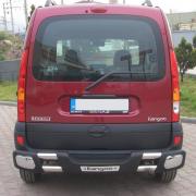 Дуга заднего бампера для Renault Kangoo (2003 - 2008)