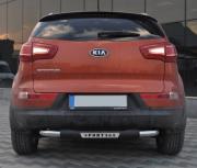 Подкова заднего бампера для Kia Sportage III (2010 - 2015)