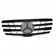 Решетка радиатора (Sport Line 2000-2002) для Mercedes W210 (1995 - 2002)