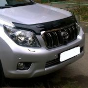 Дефлектор капота для Toyota Prado 150 (2009 - 2017)