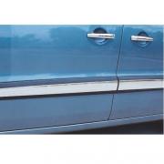 Хромированные накладки на молдинги дверей (нержавейка) для Citroen Berlingo (2008 - ...)