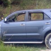 Дефлекторы окон для Toyota Fortuner (2005 - ...)