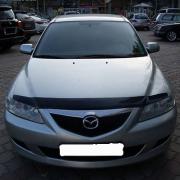 Дефлектор капота (мухобойка) для Mazda 6 (2002 - 2007)