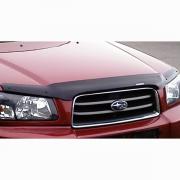 Мухобойка (дефлектор капота) для Subaru Forester (2002 - 2007)