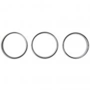 Хром кольца на регулятор печки для Mercedes Vito (1999 - 2003)