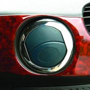Хром накладки на воздухообдувы салона (2000 - 2006) для Fiat Doblo (2001 - 2009)