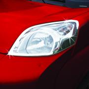 Хром на передние фары для Fiat Fiorino (2008 - ...)