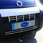 Накладки на передний бампер для Fiat Fiorino (2008 - ...)