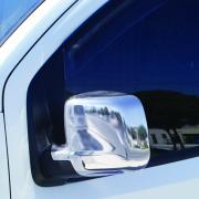 Хром на зеркала для Fiat Fiorino (2008 - ...)