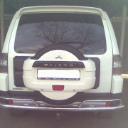 Дуга заднего бампера для Mitsubishi Pajero 4 (2007 - ...)