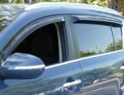 Дефлекторы дверей (ветровики) для Kia Sportage III (2010 - 2015)