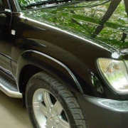 Расширители арок для Toyota Land Cruiser 100 (98 - 2006)