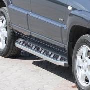 Боковые пороги для Kia Sportage II (2005 - 2009)