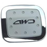 Хром на люк бензобака для Toyota RAV4 (2001 - 2005)