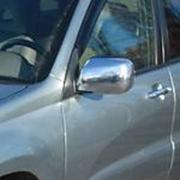 Хром на зеркала для Toyota RAV4 (2001 - 2005)