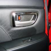 Накладки на внутренние ручки салона для Mazda 6 (2002 - 2007)