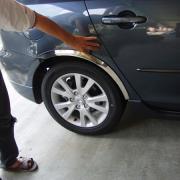 Хром накладки на арки для Mazda 6 (2002 - 2007)