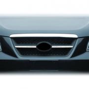 Накладки на решетку радиатора для Hyundai Sonata NF (2006 - 2010)