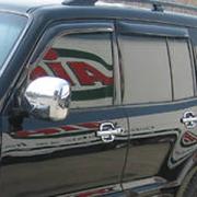 Ветровики для Mitsubishi Pajero 3 (2000 - 2006)
