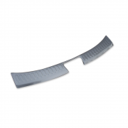 Накладка на задний бампер (нержавейка) для Hyundai IX35 (2009 - 2015)