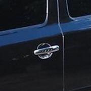 Хром на ручки дверей (с отверстиями) для Skoda Octavia A5 II FL (2009 - ...)