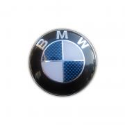 Эмблема BMW (синий карбон) для BMW X5 E70 (2007 - 2013)