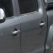Хром на ручки дверей для Volkswagen Amarok (2010 - ...)