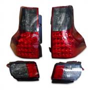 Задние диодные фонари и противотуманки для Toyota Prado 150 (2009 - 2017)