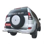 Защитная дуга заднего бампера для Toyota Prado 120 (2003 - 2008)