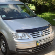 Мухобойка (дефлектор капота) для Volkswagen Caddy (2004 - 2010)