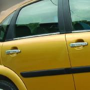 Хром на ручки дверей для Citroen C3 (2002 - 2009)