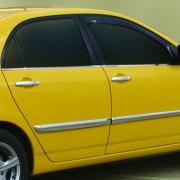 Нижние молдинги окон для Toyota Corolla (2002 - 2007)