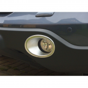 Хром на противотуманные фары для Honda CR-V (2007 - 2011)