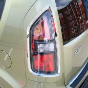 Хром задних фонарей для Kia Soul (2009 - ...)