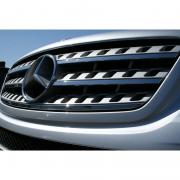 Хром на решетку для Mercedes ML W164 (2005 - 2011)