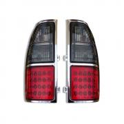 Задние диодные фонари (темные) для Toyota Prado 90 (1996 - 2002)