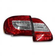 Задние фонари диодные светлые (2010+) для Toyota Corolla (2007 - 2012)