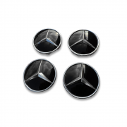 Заглушки дисков для Mercedes W124 (1985 - 1995)