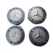 Заглушки в диски для Mercedes W211 (2002 - 2009)