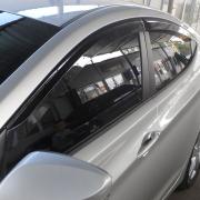 Дефлекторы дверных окон (ветровики) для Hyundai Elantra (2011 - 2014)