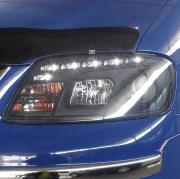 Передние фары (темные) для Volkswagen Caddy (2004 - 2010)