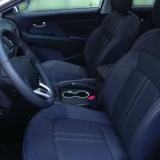 Накладка на подстаканники для Kia Sportage III (2010 - 2015)