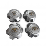 Заглушки в диски для Toyota Land Cruiser 80 (90 - 97)
