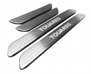 Накладки на пороги с подсветкой для Volkswagen Touareg (2010 - ...)