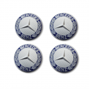 Заглушки в диски для Mercedes ML W164 (2005 - 2011)