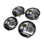 Заглушки в диски AMG для Mercedes ML W164 (2005 - 2011)