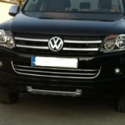 Накладки на передний бампер для Volkswagen Amarok (2010 - ...)