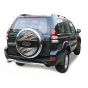 Защита заднего бампера для Toyota Prado 120 (2003 - 2008)