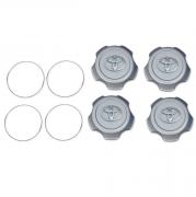 Заглушки в колесные диски для Toyota Land Cruiser 100 (98 - 2006)